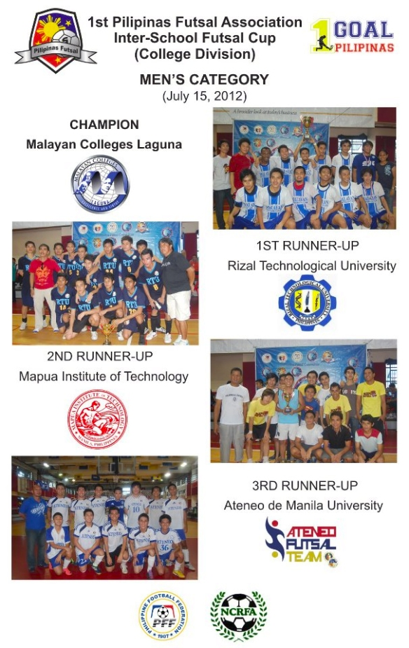 PISFC Men Teams