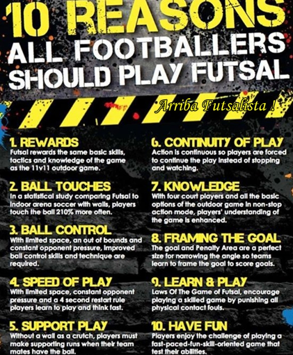 10 Reasons to Play Futsal