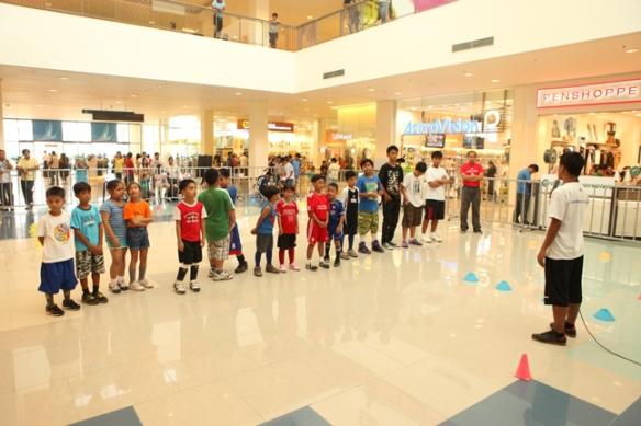 Futsal Clinic at the Mall