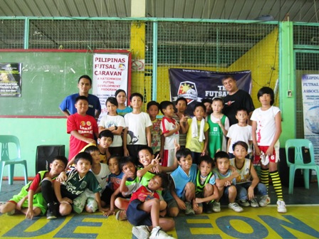 Free Futsal Clinic at Brgy. Marilag, Quezon City