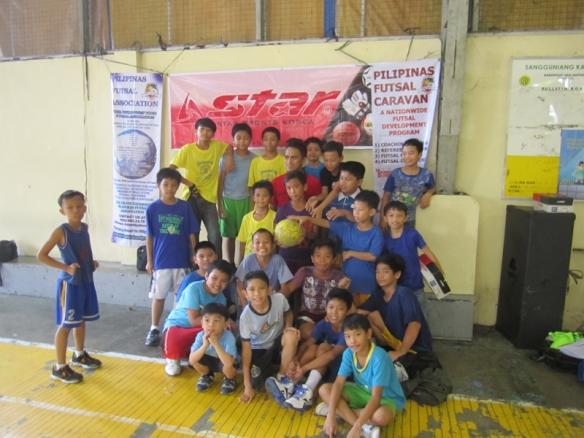 Free Futsal Clinic in Brgy. San Antonio, Makati
