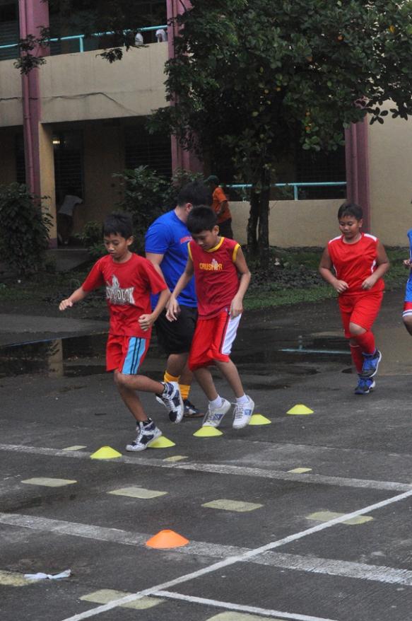 Free Futsal Clinic at Sta. Ana School