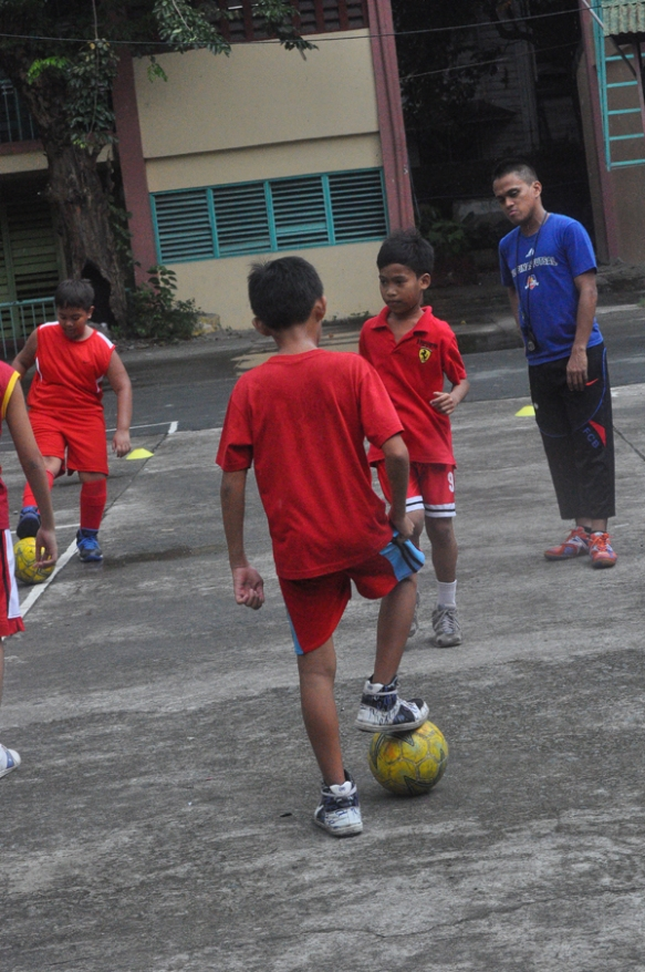 Free Futsal Clinic in Manila