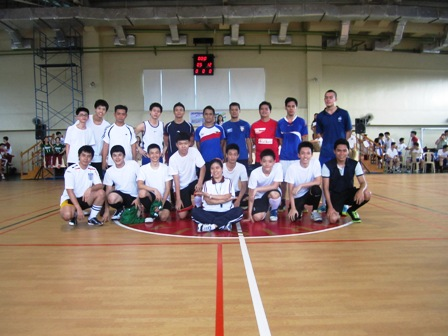 Introduction to Futsal Clinic at Jubilee School
