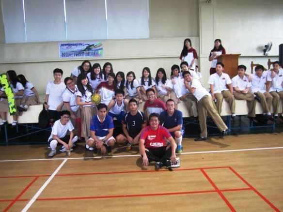 Futsal Exhibition Games at Chinese School