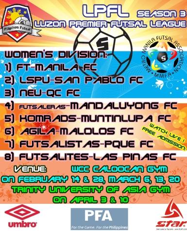 LPFL Poster Women