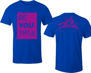 be-you-tiful-lady-futsalista-blue-shirt